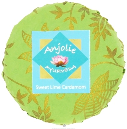 DROPPED: Anjolie Ayurveda - Sweet Lime Cardamom Soap - 150 Grams CLEARANCED PRICED