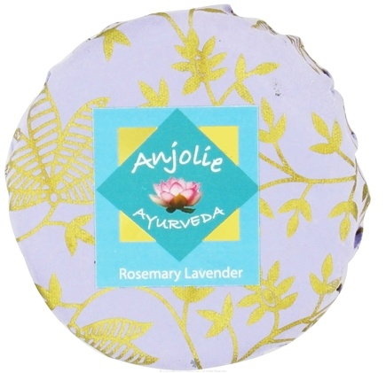 DROPPED: Anjolie Ayurveda - Rosemary Lavender Soap - 150 Grams CLEARANCED PRICED