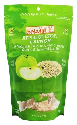 DROPPED: The Perfect Snaque - Quinoa Crunch Apple - 5 oz.