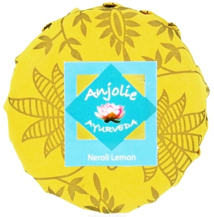 DROPPED: Anjolie Ayurveda - Neroli Lemon Soap - 150 Grams CLEARANCED PRICED