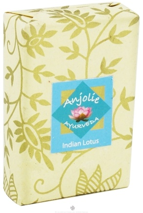 DROPPED: Anjolie Ayurveda - Indian Lotus Soap - 100 Grams CLEARANCED PRICED