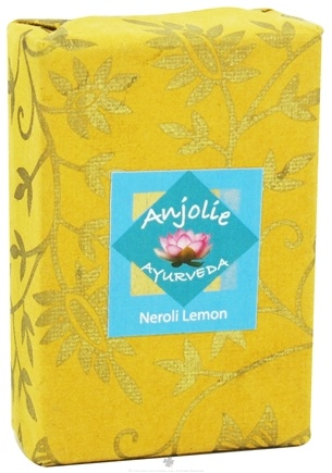 DROPPED: Anjolie Ayurveda - Neroli Lemon Soap - 100 Grams CLEARANCED PRICED