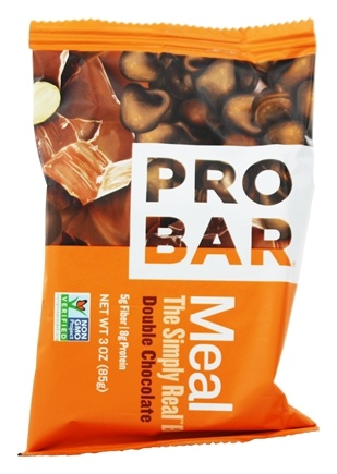 DROPPED: Pro Bar - Whole Food Meal Bar Original Collection Double Chocolate - 3 oz.