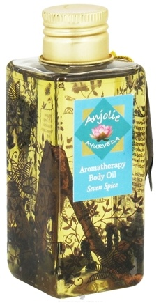DROPPED: Anjolie Ayurveda - Aromatherapy Body Oil Seven Spice - 3.72 oz. CLEARANCED PRICED