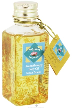 DROPPED: Anjolie Ayurveda - Aromatherapy Body Oil Neroli Lemon - 3.72 oz. CLEARANCED PRICED