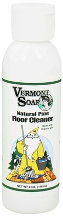 Vermont Soapworks - Floor Cleaner Natural Pine - 4 oz. CLEARANCE PRICED