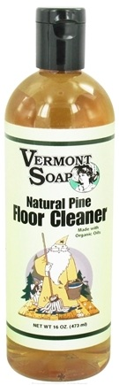Vermont Soapworks - Floor Cleaner Natural Pine - 16 oz.