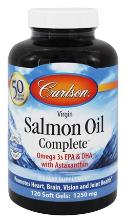 Carlson Labs - Salmon Oil Complete 1250 mg. - 120 Softgels
