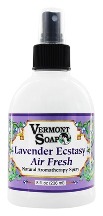 Vermont Soapworks - Air Freshener Aromatherapy Lavender Ecstacy - 8 oz.