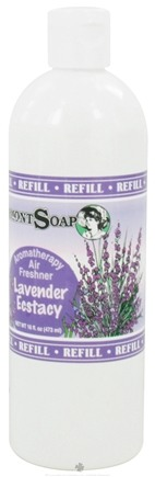 DROPPED: Vermont Soapworks - Air Freshener Aromatherapy Refill Lavender Ecstacy - 16 oz. CLEARANCE PRICED