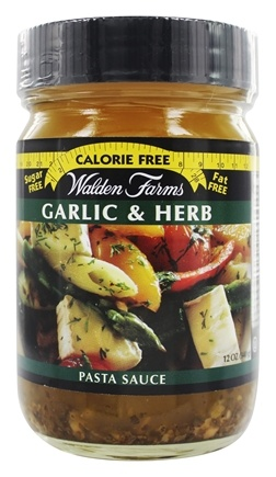 Walden Farms - Calorie Free Pasta Sauce Garlic & Herb - 12 oz.