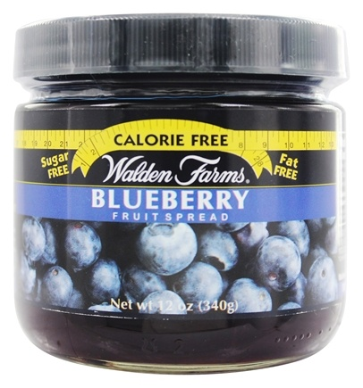 Walden Farms - Calorie Free Fruit Spread Blueberry - 12 oz.