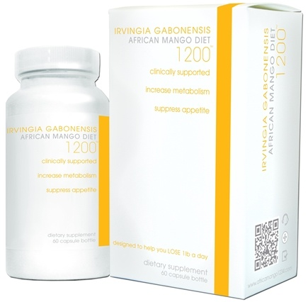 DROPPED: Creative BioScience - African Mango Diet 1200 mg. - 60 Capsules CLEARANCE PRICED