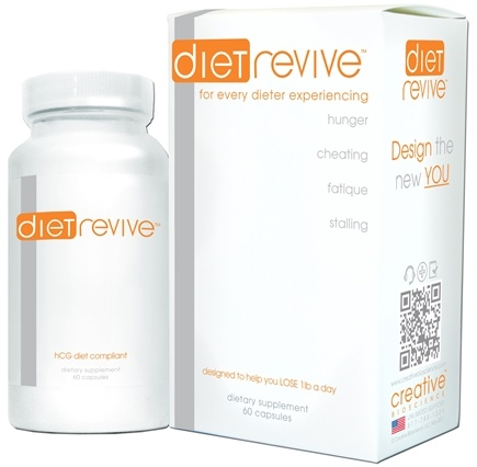 DROPPED: Creative BioScience - Diet Revive with Slimaluna - 60 Capsules CLEARANCE PRICED