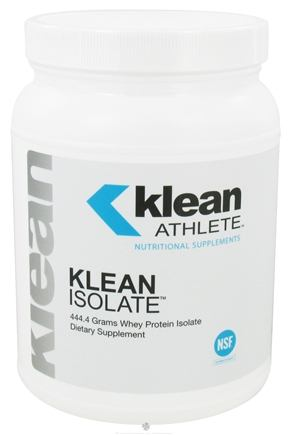 DROPPED: Klean Athlete - Klean Isolate Whey Protein Isolate Powder - 444.4 Grams
