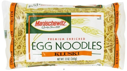 DROPPED: Manischewitz - Egg Noodles Kluski - 12 oz. CLEARANCE PRICED