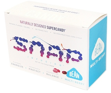 DROPPED: SNAP Infusion - Naturally Designed Bean Supercandy Multi-Berry - 5 Pack(s)