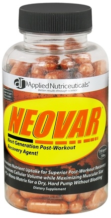 DROPPED: Applied Nutriceuticals - Neovar Next Generation Post-Workout Recovery Agent 750 mg. - 110 Capsules CLEARANCE PRICED