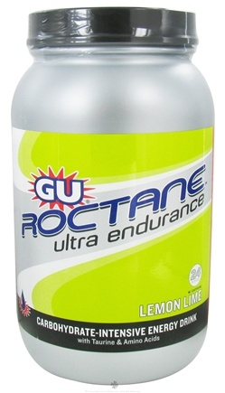 DROPPED: GU Energy - Roctane Ultra Endurance with Caffeine Canister Lemon Lime - 1.56 kg. CLEARANCE PRICED