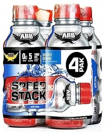 DROPPED: ABB Performance - Speed Stack Berry Bomb 18 oz. - 4 Pack