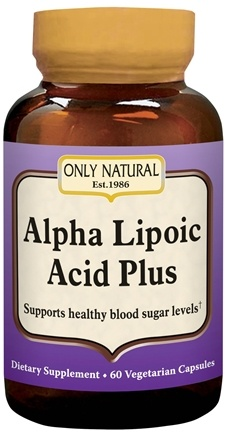 DROPPED: Only Natural - Alpha Lipoic Acid 200 mg Plus - 60 Capsules