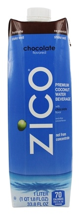 DROPPED: Zico - Pure Premium Coconut Water Chocolate - 1 Liter