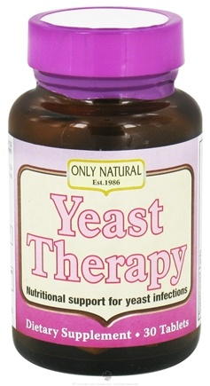 DROPPED: Only Natural - Yeast Therapy - 30 Tablets CLEARANCE PRICED