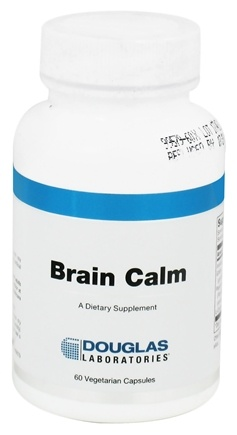 DROPPED: Douglas Laboratories - Brain Calm - 60 Vegetarian Capsules CLEARANCE PRICED