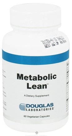 DROPPED: Douglas Laboratories - Metabolic Lean - 60 Vegetarian Capsules CLEARANCE PRICED