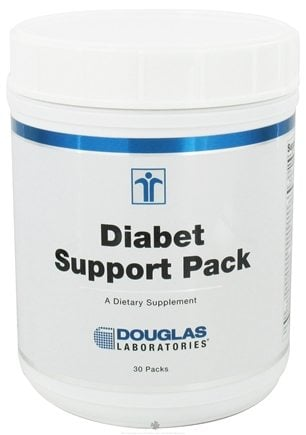 DROPPED: Douglas Laboratories - Diabet Support Pack - 30 Packet(s) CLEARANCE PRICED