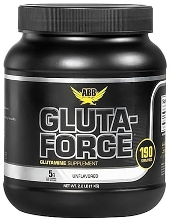 DROPPED: ABB Performance - Gluta-Force Glutamine Unflavored - 2.2 lbs. CLEARANCE PRICED