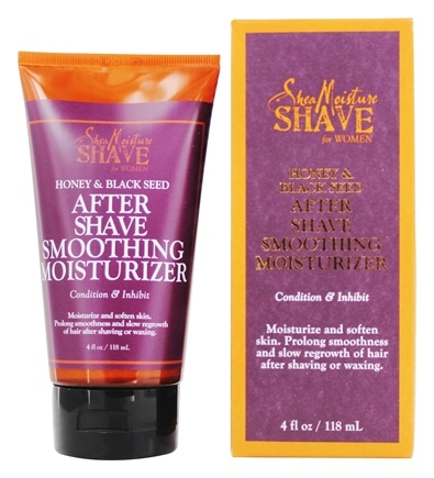 Shea Moisture - Honey & Black Seed After Shave Smoothing Moisturizer For Women - 4 oz.