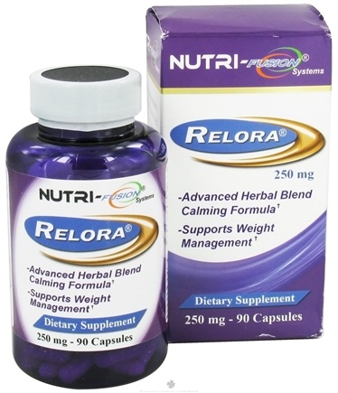 DROPPED: Fusion Diet Systems - Relora 250 mg. - 90 Capsules CLEARANCE PRICED
