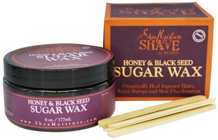 Shea Moisture - Honey & Black Seed No-Heat Sugar Wax For Women - 6 oz.