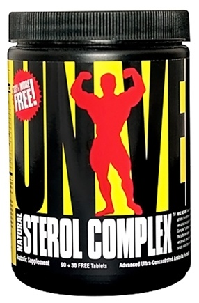 DROPPED: Universal Nutrition - Natural Sterol Complex Advanced Ultra-Concentrated Anabolic Formula - 120 Tablets