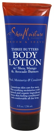 Shea Moisture - Three Butters Body Lotion for Men - 8 oz.
