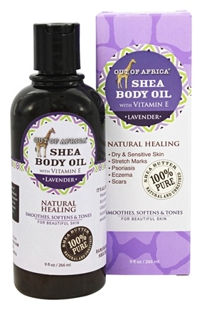 DROPPED: Out Of Africa - Skin Saver Daily Hydrating Oil Lavender - 9 oz.