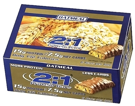 DROPPED: MetraGenix - 2:1 Protein Bar Oatmeal - 1.3 oz. CLEARANCE PRICED