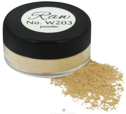 DROPPED: Raw Skin Ceuticals - Cosme.Ceuticals Raw Powder Mineral Foundation Matte W203 20 SPF - 1 oz.