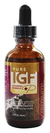 Pure Solutions - Pure IGF Premium Advanced Formula From Deer Velvet Antler Extract 11 mg. - 2 oz.