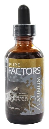 Pure Solutions - Pure Factors Platinum Concentrated Growth Factors From Deer Velvet Antler Extract 44.25 mg. - 2 oz.