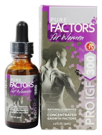 Pure Solutions - Pure Factors For Women Pro IGF 300 with Deer Velvet Antler Extract - 1 oz.