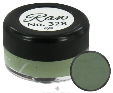 DROPPED: Raw Skin Ceuticals - Cosme.Ceuticals Raw Satin Creme Eye Shadow 328 Green Tea - 5 ml.