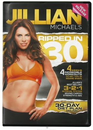 DROPPED: Gaiam - Jillian Michaels Ripped in 30 DVD - CLEARANCE PRICED