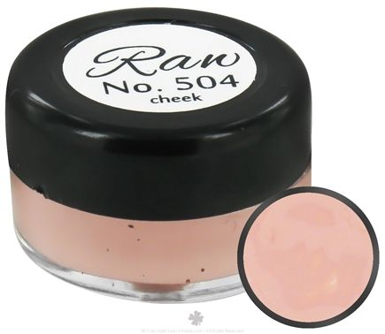 DROPPED: Raw Skin Ceuticals - Cosme.Ceuticals Raw Creme Cheek Color 504 Pretty In Pink - 5 ml. CLEARANCE PRICED