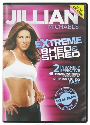 DROPPED: Gaiam - Jillian Michaels Extreme Shed and Shred DVD - CLEARANCE PRICED