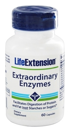 Life Extension - Extraordinary Enzymes - 60 Capsules