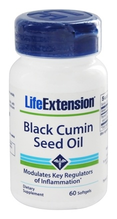 Life Extension - Black Cumin Seed Oil - 60 Softgels