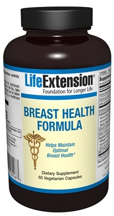 DROPPED: Life Extension - Breast Health Formula - 60 Vegetarian Capsules