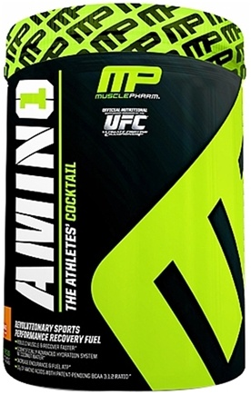 DROPPED: Muscle Pharm - Amino1 Hybrid Series Revolutionary Sports Performance Recovery Fuel Orange Mango - 32 Serving(s) CLEARANCE PRICED